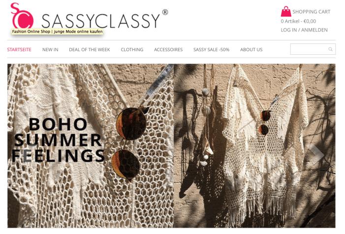 Fashion Online Shops