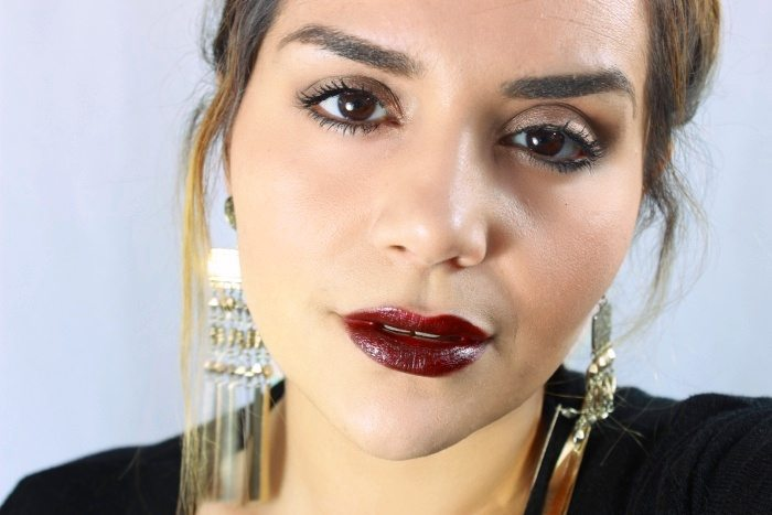 Brown lips