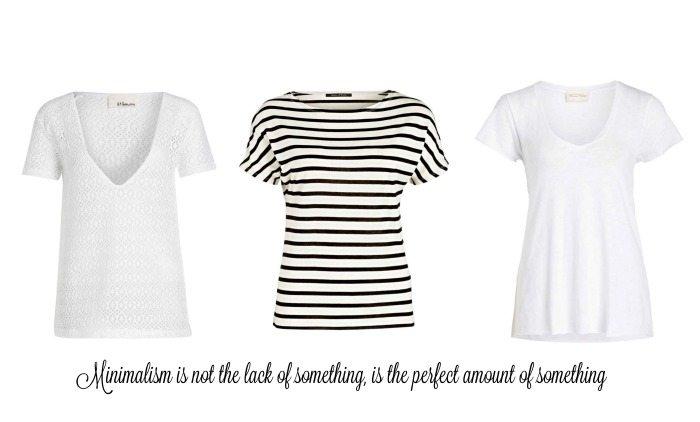 minimalistisches Outfit