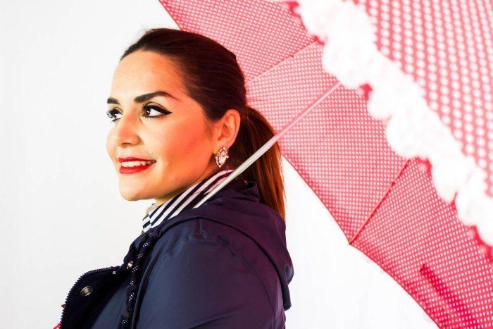 Regenmantel stylisch