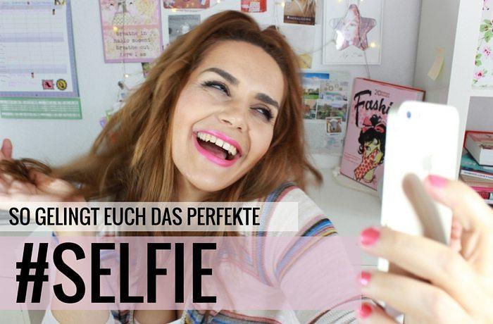 perfektes selfie gesicht