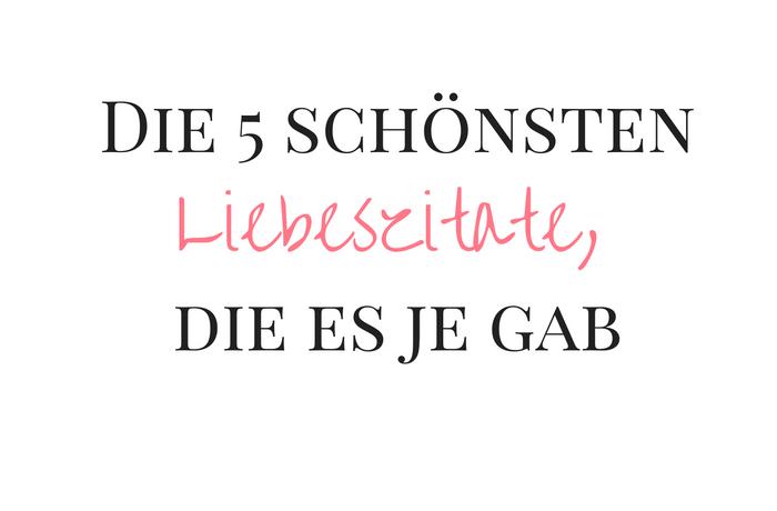 Citermasan Deutsch Liebe Zitate