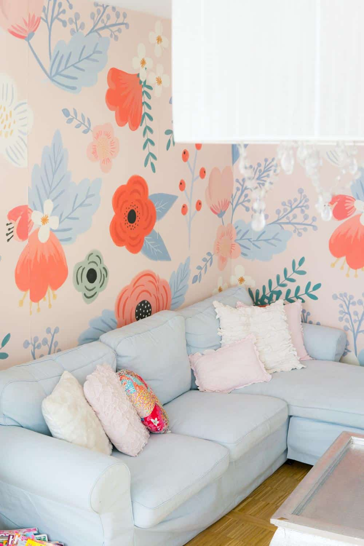 Wohnzimmer Makeover - so einfach gehts - SANDRA SARA